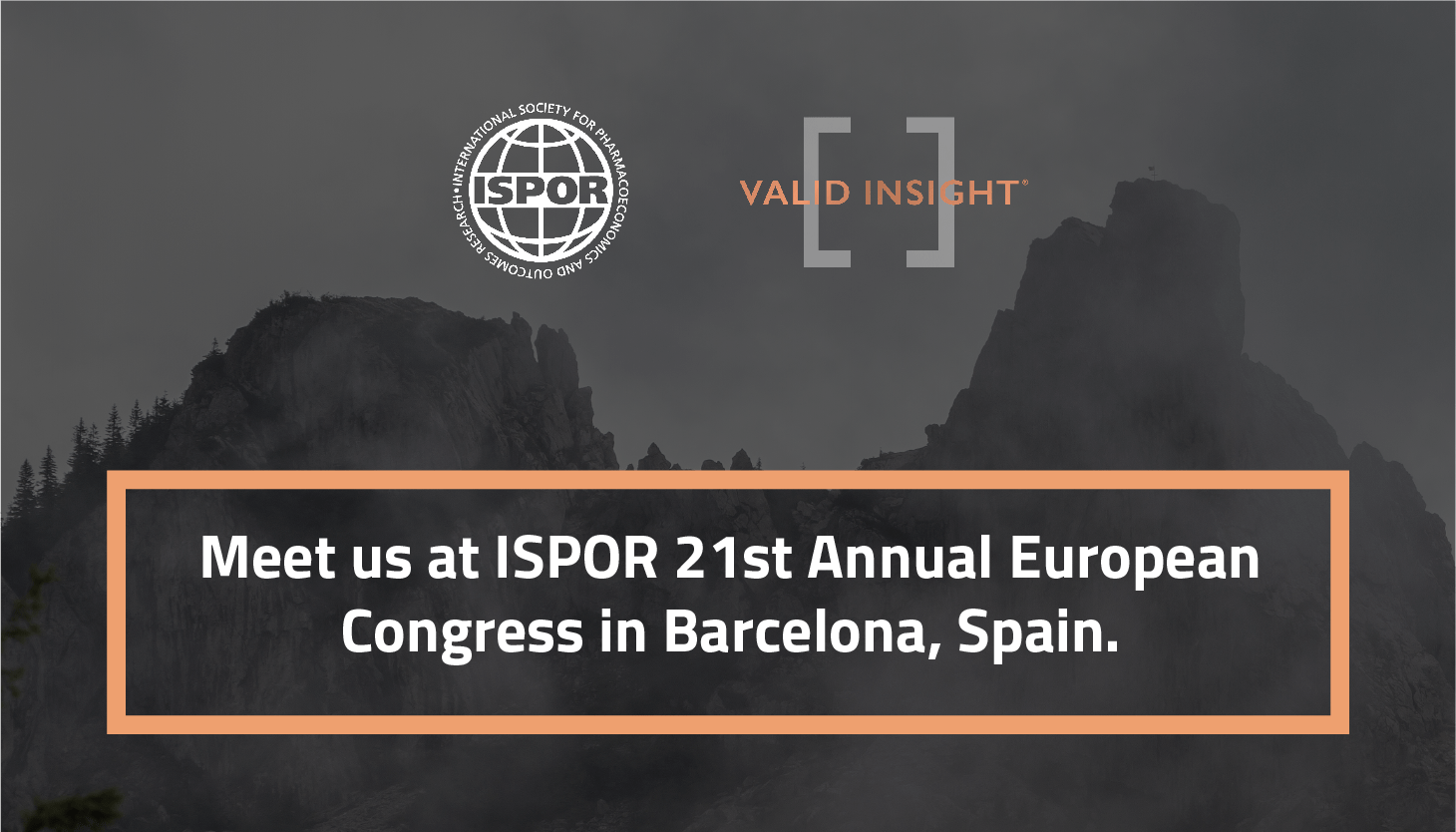 ISPOR 21at Annual European Congress