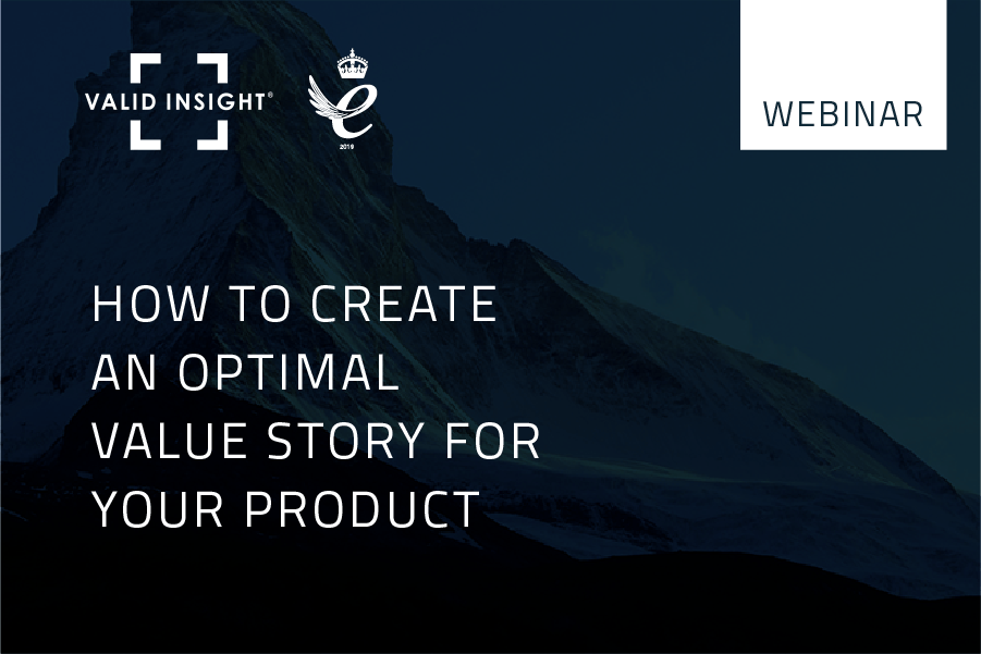 How to create an optimal value story for your product