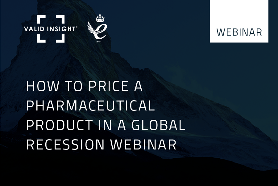 How to price a pharmaceutical product in a global recession Webinar