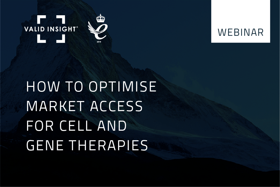 How to optimise market access for cell and gene therapies