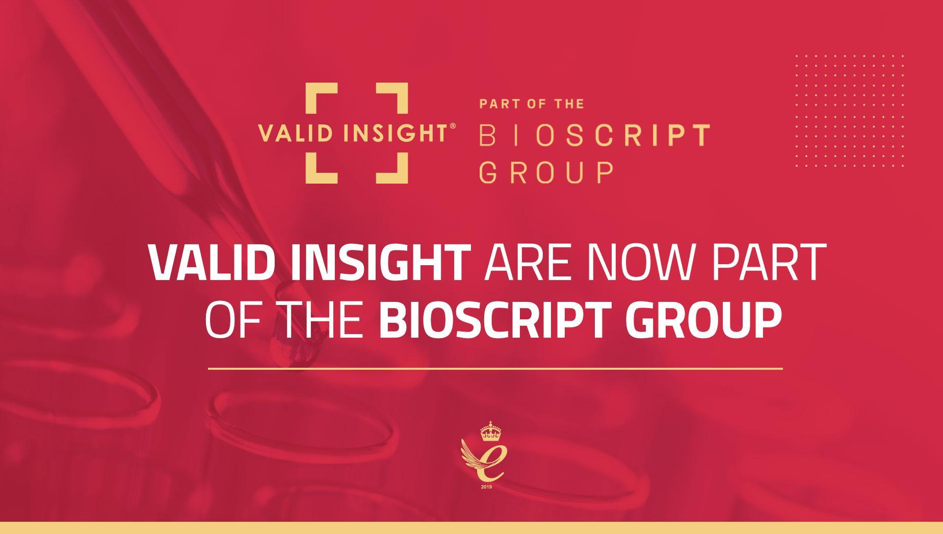 Bioscript and Valid Insight